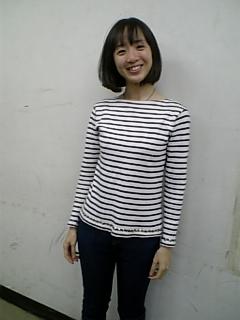 洋服が素敵な鈴木茜さん