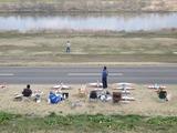 利根川の飛行場