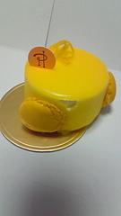 ケーキとマカロンとうさぎ