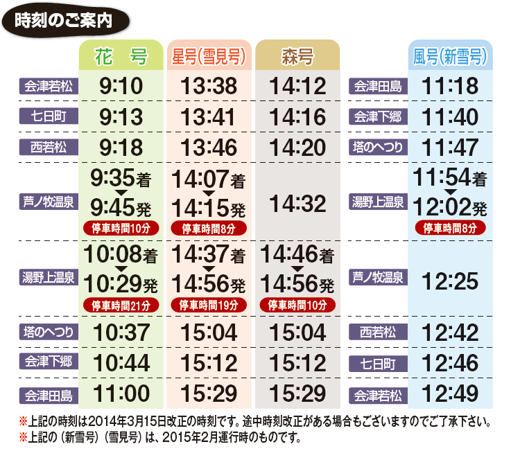 04発車時刻