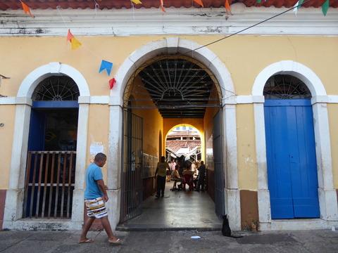 サンルイス旧市街 (62)Casa das Tulhas 市場