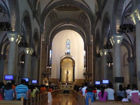 ⑰マニラ大聖堂2