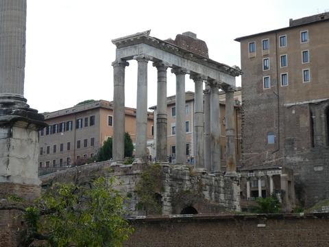 フォロロマーノ (24) サトゥルヌスの神殿