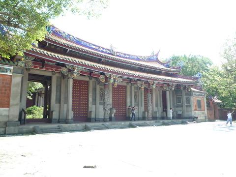 孔子廟で舞