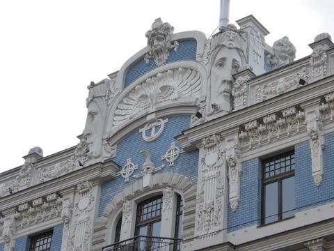 ユーゲントシュティール建築 (3)エリザベス通り10b番地