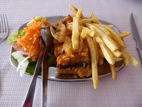 昼食 (3)バカリャウ