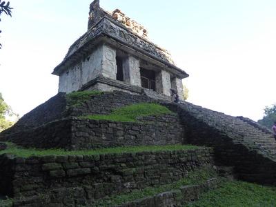 パレンケ (29) 太陽の神殿