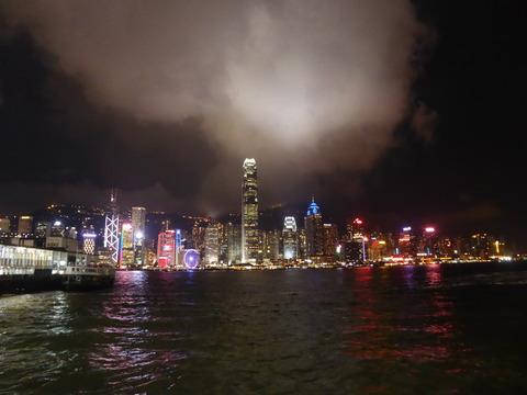 香港の夜景 (1)