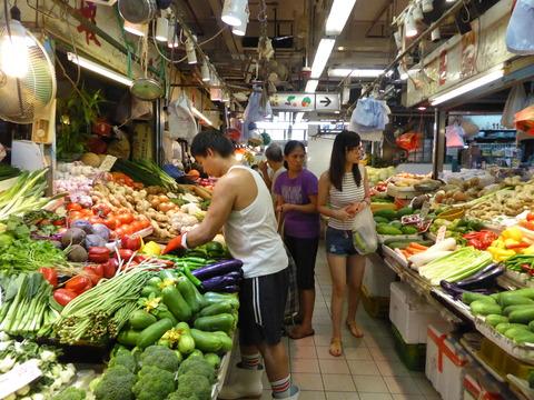 香港の市場 (5)