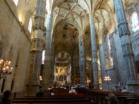 ジェロニモス修道院 (5)サンタ・マリア教会