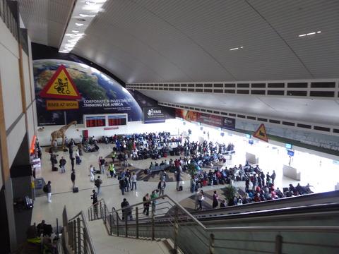 ①ヨハネスブルグ空港 (4)