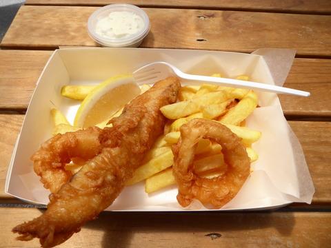 昼食 (3) Oceanz seafood