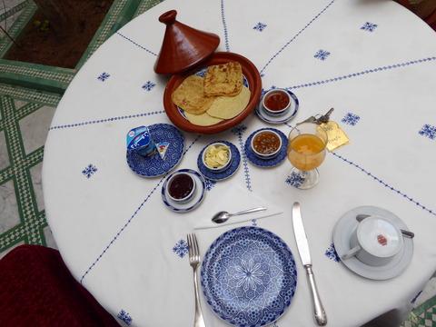 フェズ朝食