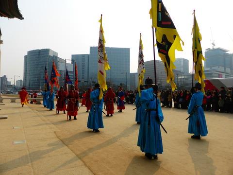 衛兵交代儀式