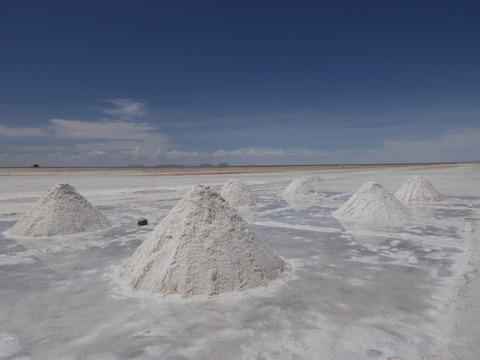 塩のピラミッド