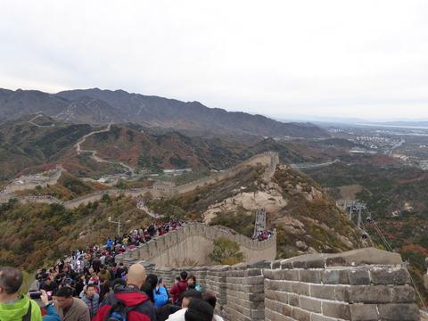 万里の長城7
