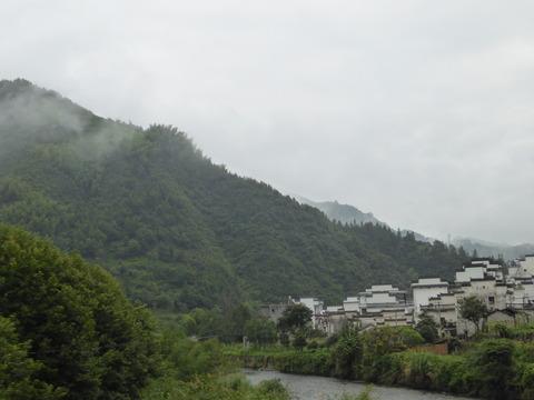 宏村へ行く途中2