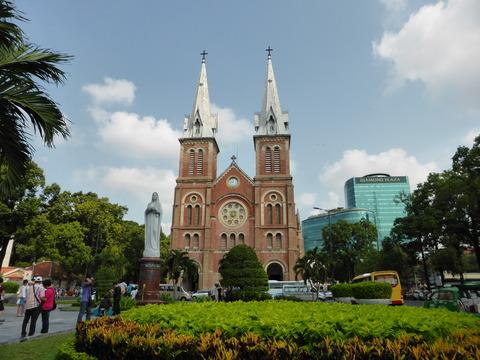 サイゴン大聖堂1