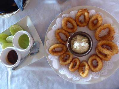 昼食4 カラマリ