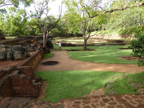シギリヤ庭園