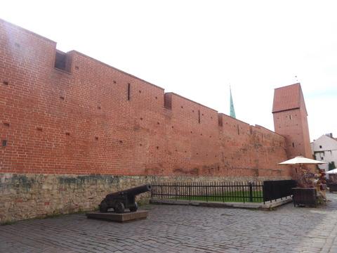 リガ旧市街 (113)城壁