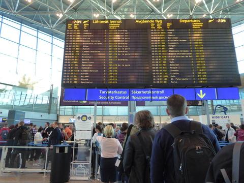 ヘルシンキ空港6