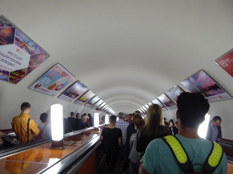 エアロエクスプレス (5)地下鉄