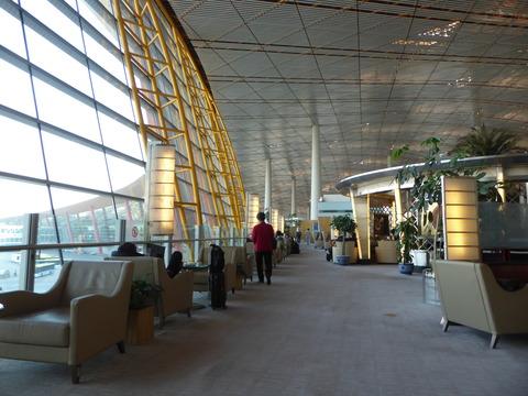 北京空港ファーストクラスラウンジ (8)