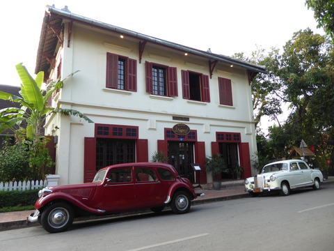 ルアンパバンの街