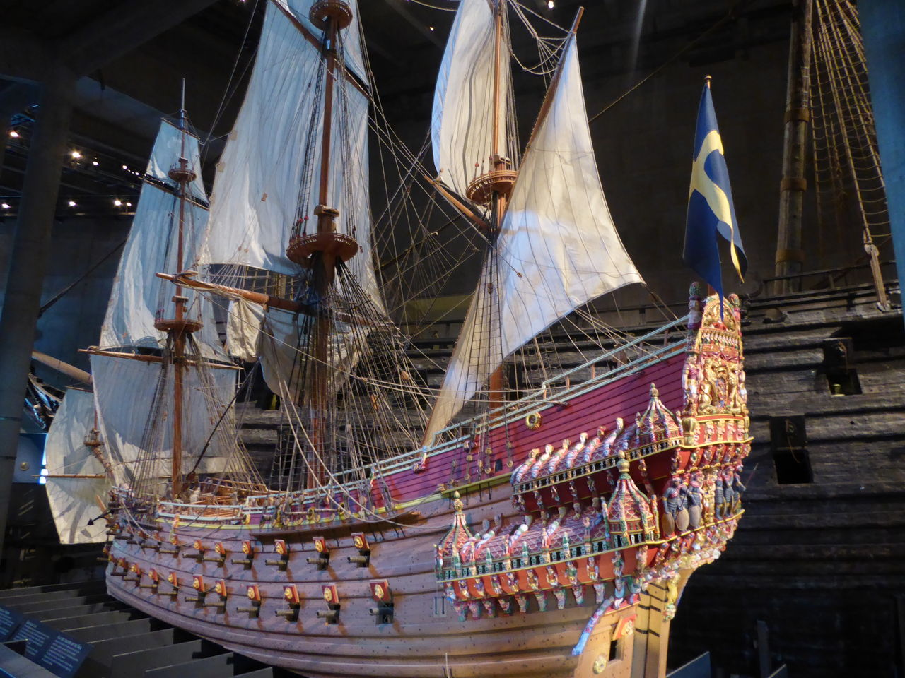週末バンコク&ストックホルム その19 巨大な沈没船、ヴァーサ号 ...