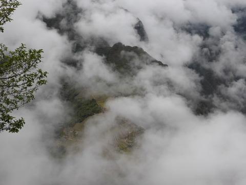 ワイナピチュ頂上から