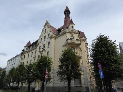 ユーゲントシュティール建築 (21)アルベルタ通り12番地