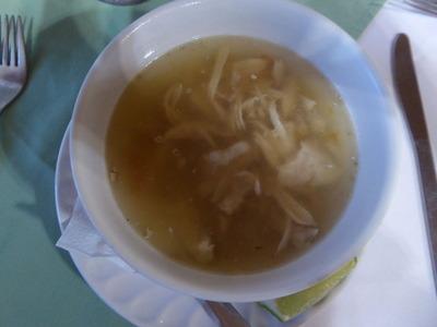 夕食2 sopa de Lima
