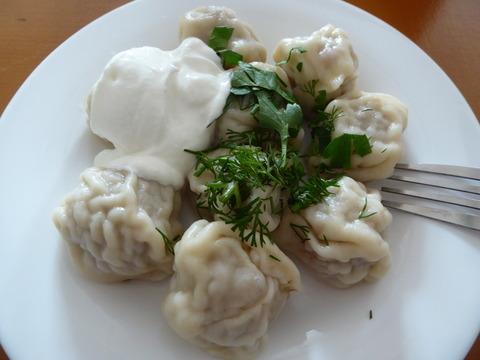 夕食 (2)ペリメニ