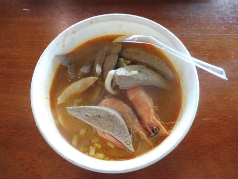 フェリー乗り場 フードコート (3) 沙茶麺