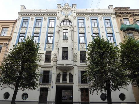 ユーゲントシュティール建築 (19)アルベルタ通り8番地