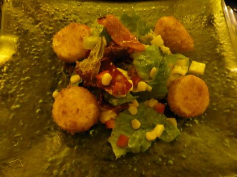 ⑥豆腐サラダ