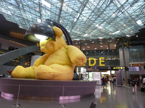 ④ドーハ空港ラウンジ (6)