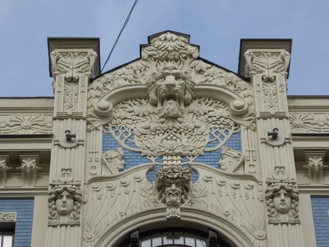 ユーゲントシュティール建築 (20)アルベルタ通り8番地