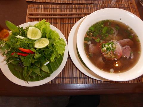 ㊱Le Cafe Ban Vat Sene2 pho bo