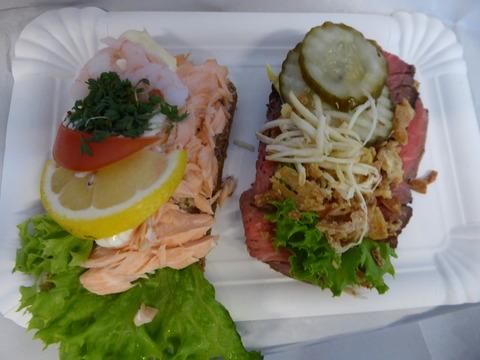 昼食 (3)スモーブロー