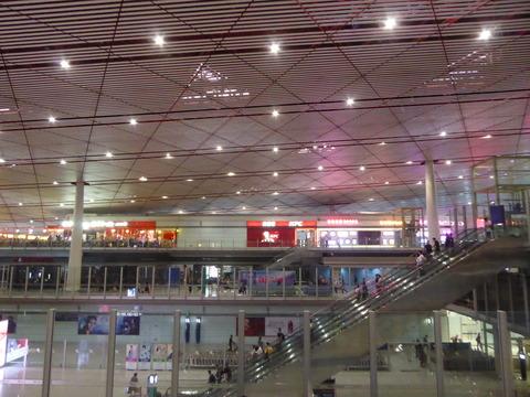 北京空港 国内線ラウンジ (1)