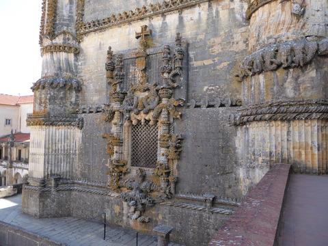 キリスト修道院 (68)マヌエル様式の窓