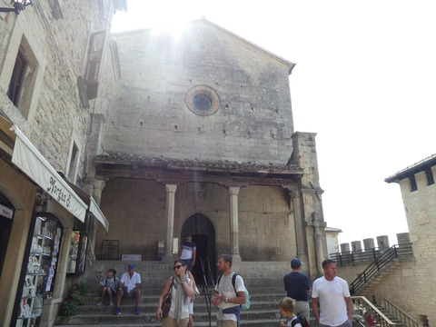 サンマリノ (19)聖フランチェスコ教会