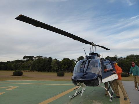 ヘリコプター遊覧 (1)