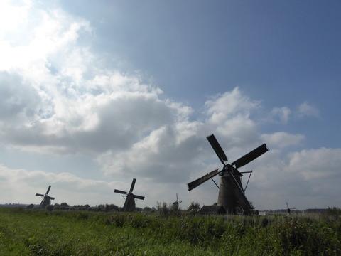 キンデルダイクの風車4