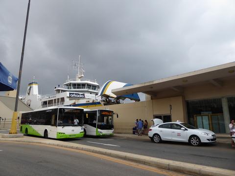 ⑩Comino ferry (2)