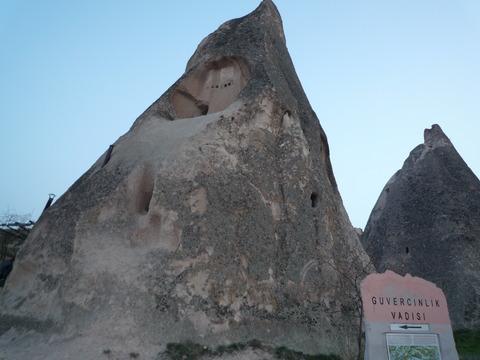 カッパドキアの民家