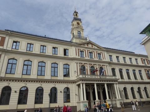 リガ旧市街 (57)市庁舎