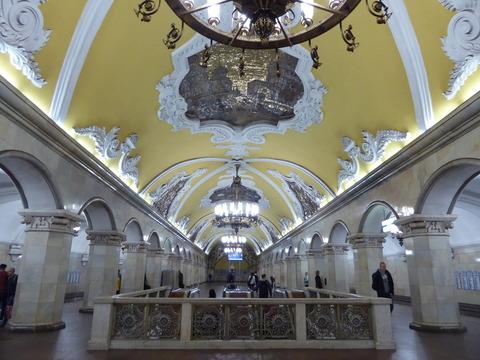 ②コムソモーリスカヤ駅 (2)